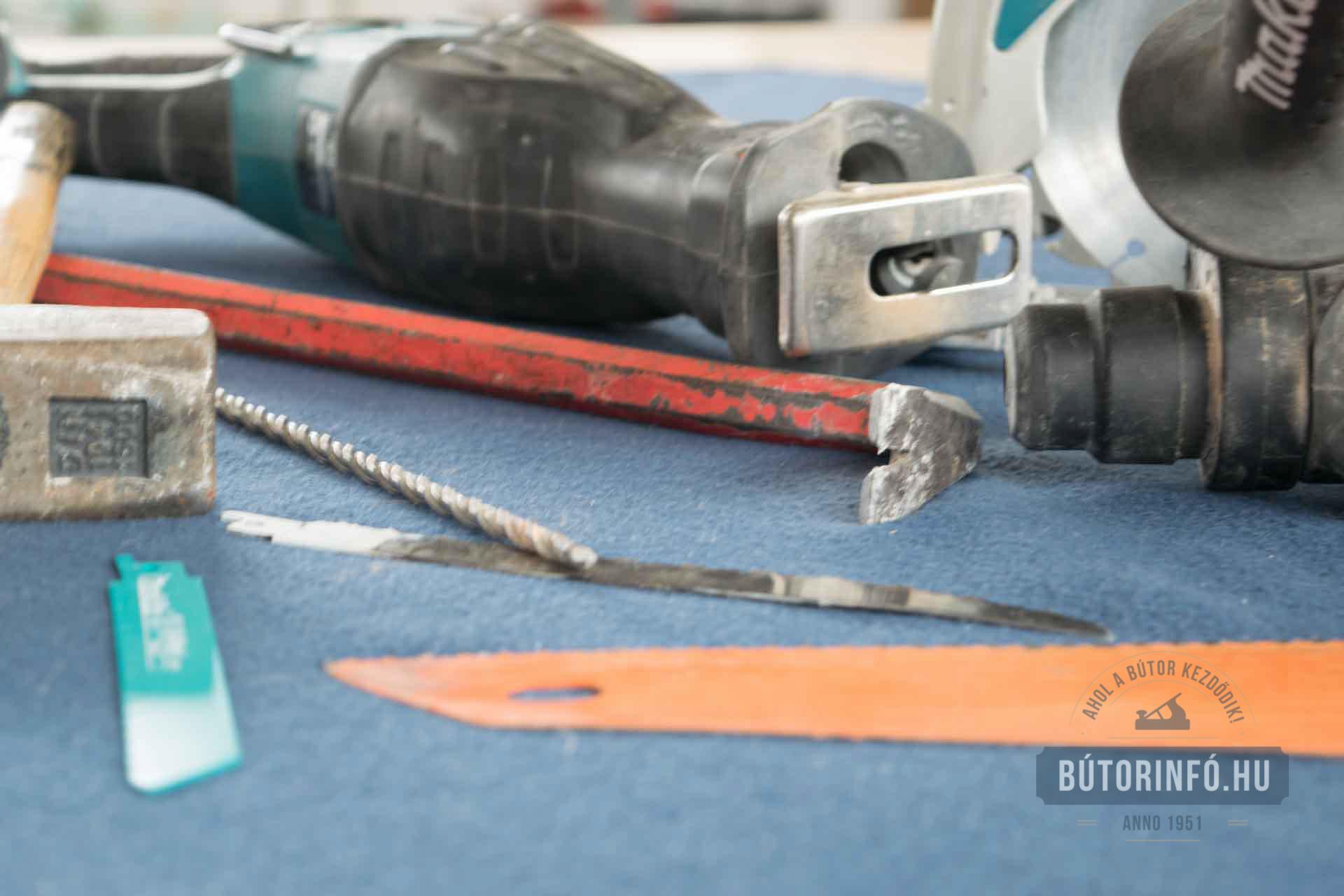 Bútor bontás kiszerelés, kiépítés