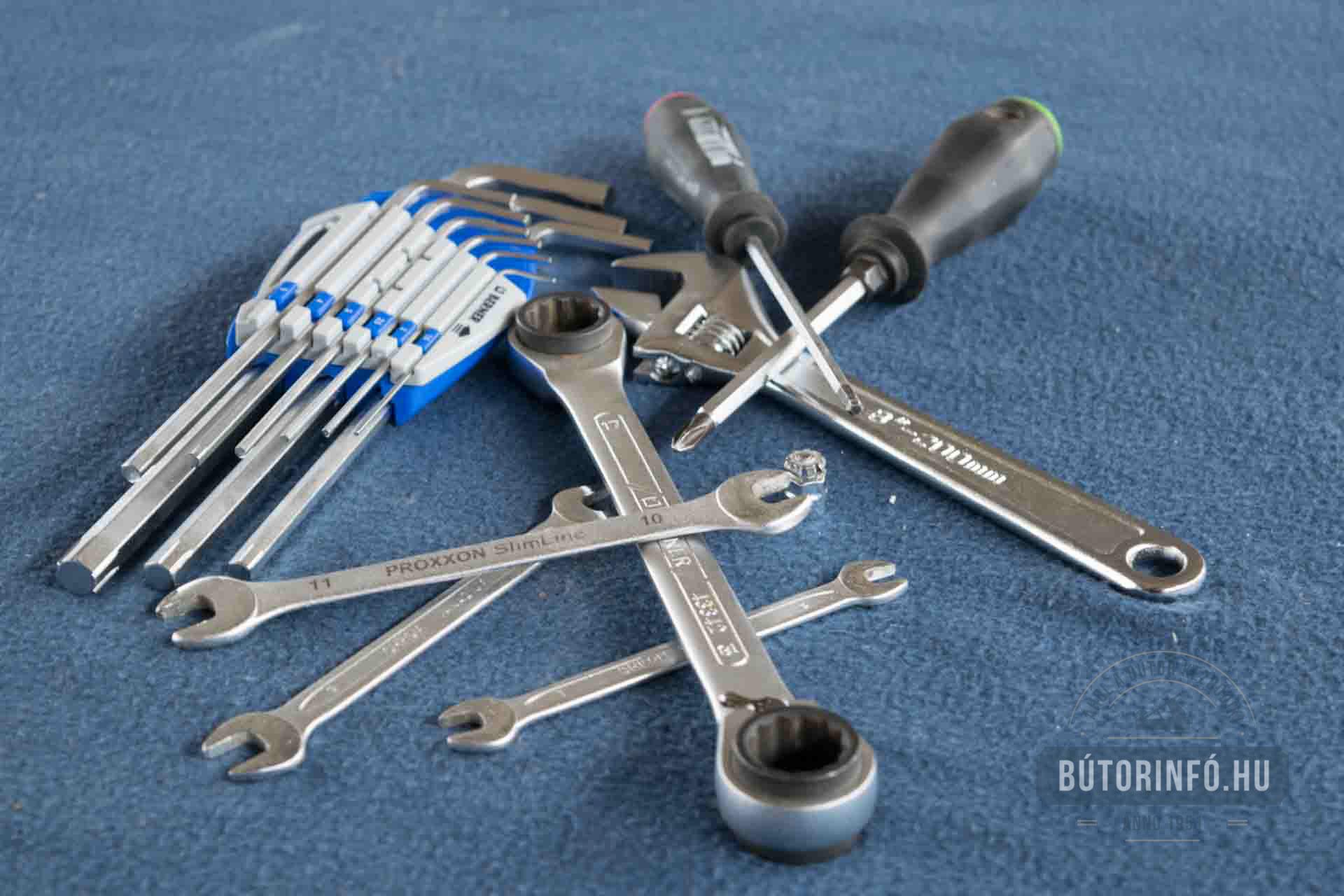 Bútor karbantartás, javítás, beállítás, szerelés