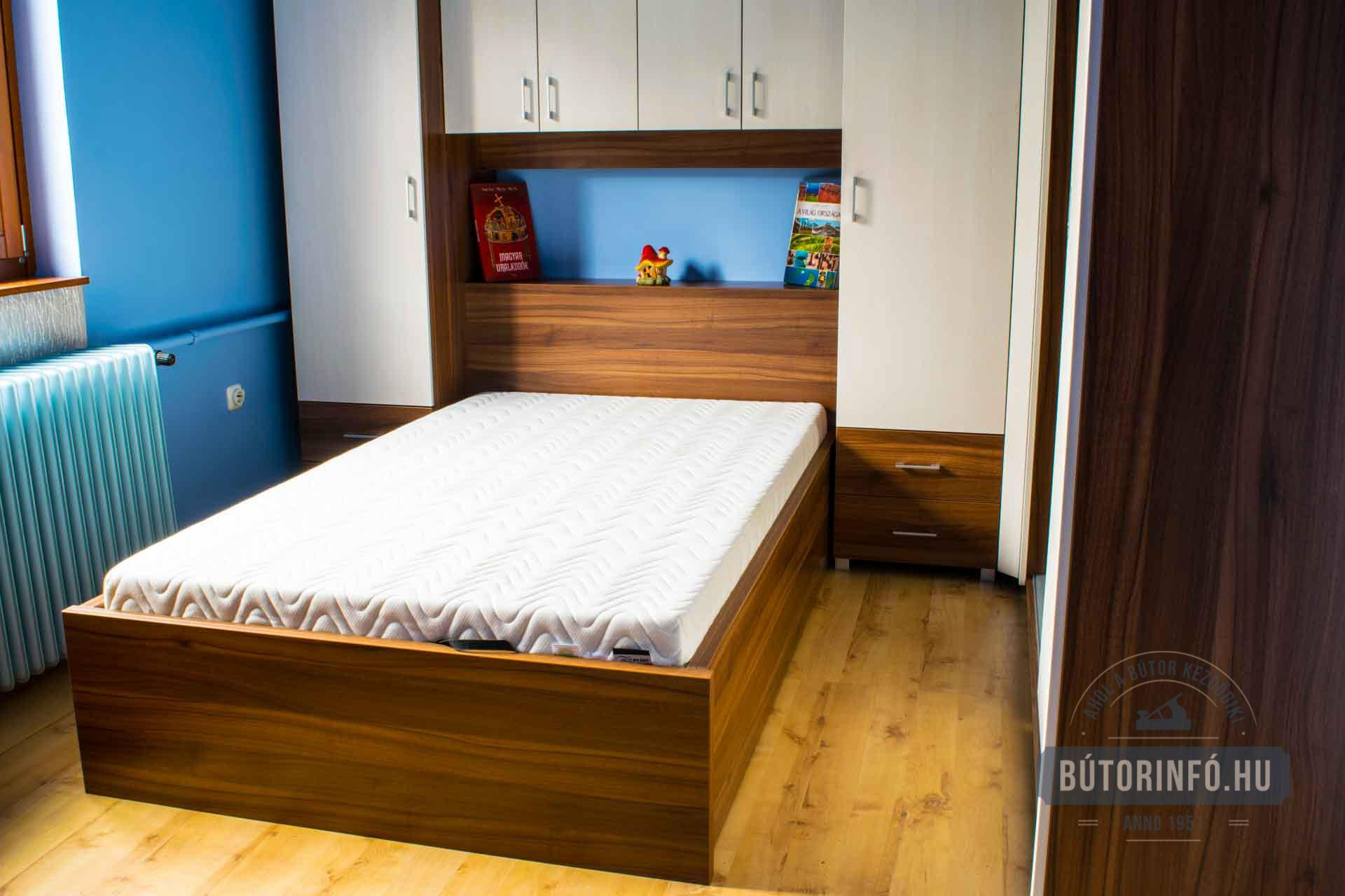 Fiatalos Modern Szoba Bútor, Gardróbszekrény és Ágy