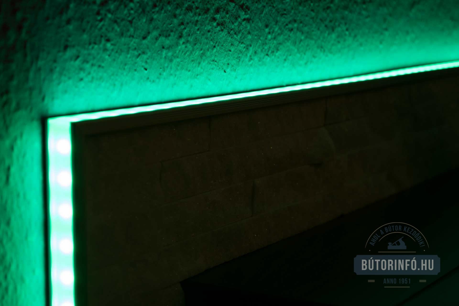 RGB LED szalagok alkalmazása bútoroknál