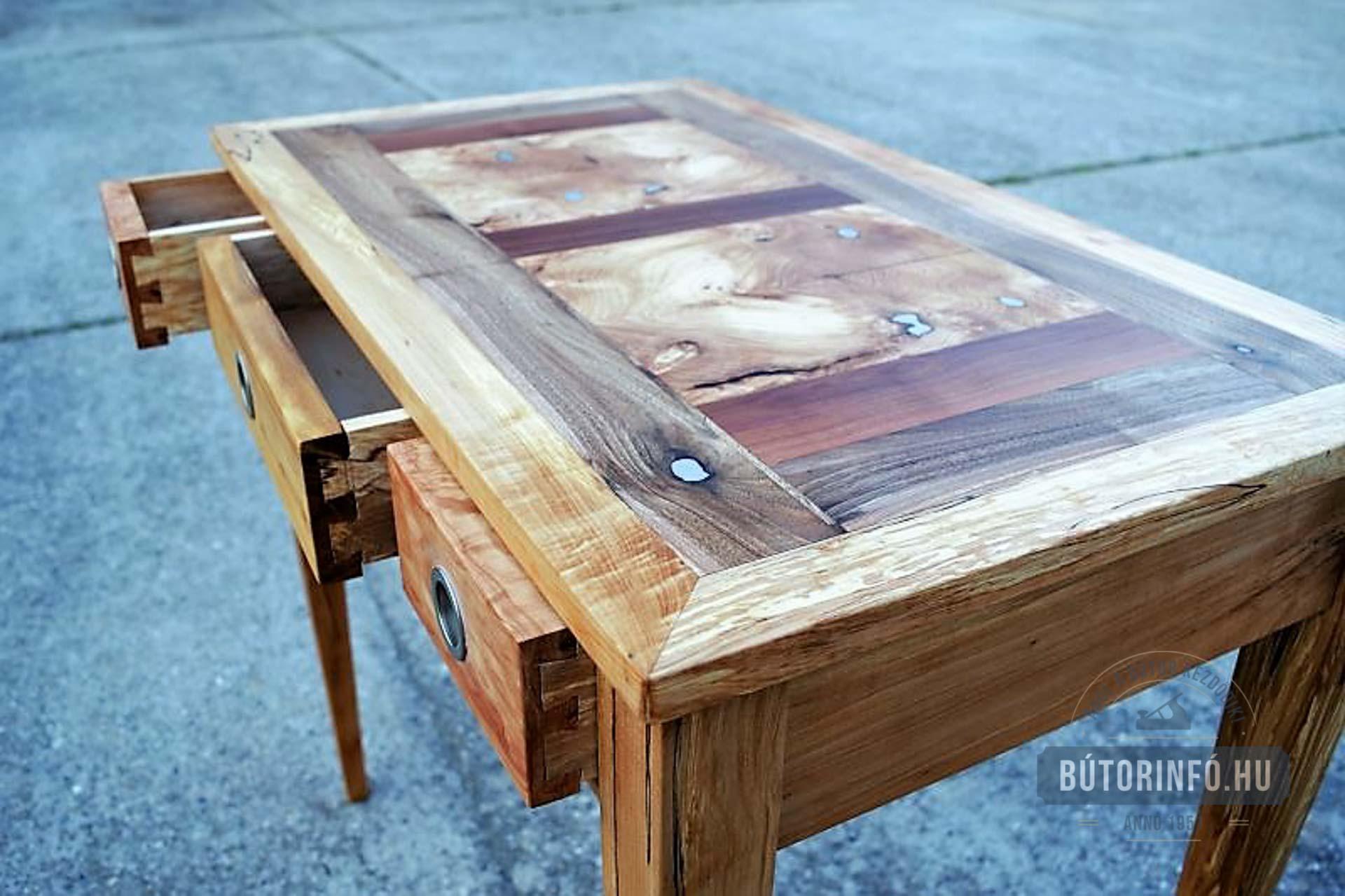 Tömörfa asztal bútor 2016 6
